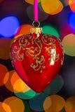 Weihnachtsherz Lizenzfreies Stockfoto
