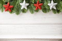 Weihnachtshintergründe. Stockfotografie
