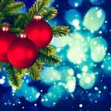 Weihnachtshintergründe Stockfoto