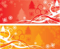 Weihnachtshintergründe, Vektor Lizenzfreies Stockfoto