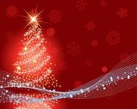 Weihnachtshintergrund stock abbildung