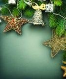 Weihnachtshintergrund Stockfotografie