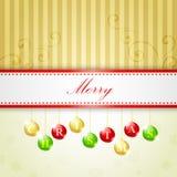 Weihnachtshintergrund Stockfotos