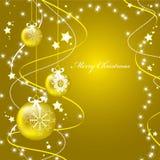 Weihnachtshintergrund. Lizenzfreie Stockfotos