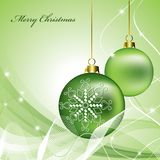 Weihnachtshintergrund. Stockfotografie