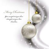 Weihnachtshintergrund. Stockfotos