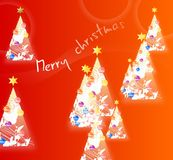 Weihnachtshintergrund Lizenzfreie Stockfotos