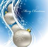 Weihnachtshintergrund. Stockfoto
