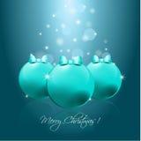 Weihnachtshintergrund Lizenzfreies Stockfoto