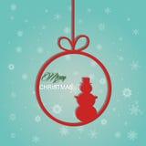 Weihnachtshintergrund Stockbild