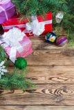 Weihnachtshintergrund 06 Stockbild