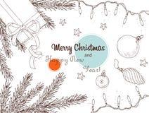 Weihnachtshintergrund 1 Stockfoto