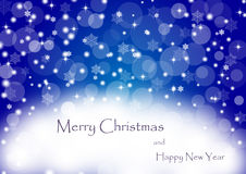 Weihnachtshintergrund 03 Lizenzfreies Stockfoto