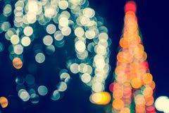Weihnachtshintergrund, abstraktes Bild Stockfotos