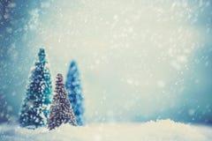 Weihnachtshintergrund bokeh Lizenzfreie Stockfotografie