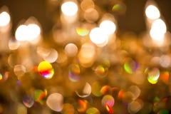 Weihnachtshintergrund bokeh Stockbilder