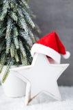 Weihnachtshintergrund in der Weinleseart glückliches neues Jahr 2007 Stockbilder