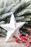 Weihnachtshintergrund in der Weinleseart glückliches neues Jahr 2007 Lizenzfreie Stockbilder