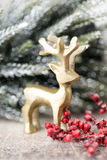 Weihnachtshintergrund in der Weinleseart glückliches neues Jahr 2007 Stockfoto