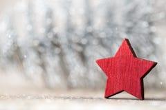 Weihnachtshintergrund in der Weinleseart glückliches neues Jahr 2007 Stockfotografie