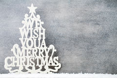 Weihnachtshintergrund in der Weinleseart glückliches neues Jahr 2007 Lizenzfreies Stockbild