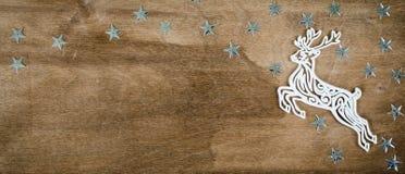 Weihnachtshintergrund für Feiertags-Karte Lizenzfreies Stockbild