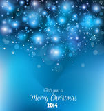 Weihnachtshintergrund für Grüße! Lizenzfreies Stockfoto