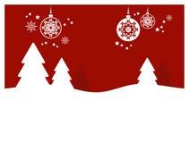 Weihnachtshintergrund (ii) Lizenzfreies Stockbild