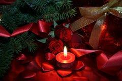 Weihnachtshintergrund III Stockfoto