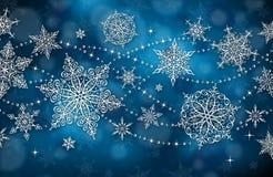 Weihnachtshintergrund - Illustration Stockfotos
