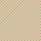 Weihnachtshintergrund mit den grünen, roten und weißen Schrägstreifen Lizenzfreie Stockbilder