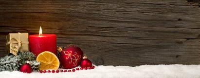 Weihnachtshintergrund mit Exemplarplatz Stockbilder