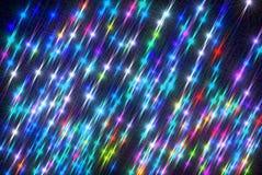 Weihnachtshintergrund mit hellem und leuchtendem Licht lizenzfreie abbildung