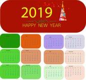 Weihnachtshintergrund mit Stern-Weihnachtsfahne Hintergrund-Weihnachtsentwurfsguten rutsch ins neue jahr 2019 stockfoto