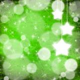 Weihnachtshintergrund mit Sternen Lizenzfreie Stockbilder