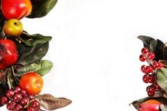 Weihnachtshintergrund mit Ziergegenstand lizenzfreies stockfoto