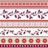 Weihnachtshintergrund, Packpapier stockfoto