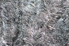 Weihnachtshintergrund: Silberner Glanz 2 Auf lagerbild Lizenzfreie Stockfotografie