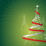 Weihnachtshintergrund (Vektor) Lizenzfreies Stockbild