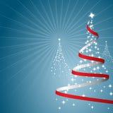 Weihnachtshintergrund (Vektor) Stockfoto