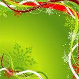 Weihnachtshintergrund, Vektor Lizenzfreies Stockbild