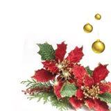 Weihnachtshintergrundthema Lizenzfreie Stockfotos