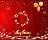 Weihnachtshintergrundvektor Lizenzfreie Stockfotos