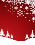 Weihnachtshintergrundvektor lizenzfreie stockfotografie