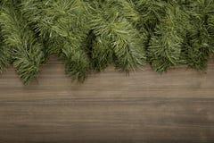 Weihnachtsholzhintergrund stockbild