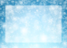 Weihnachtshorizontaler Rahmen - Illustration Lizenzfreies Stockbild