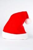 Weihnachtshut getrennt Lizenzfreies Stockfoto