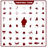 Weihnachtsikone Stockfoto