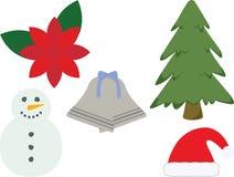 Weihnachtsikonen Lizenzfreie Stockfotografie