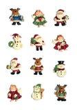 Weihnachtsikonen Lizenzfreie Stockbilder